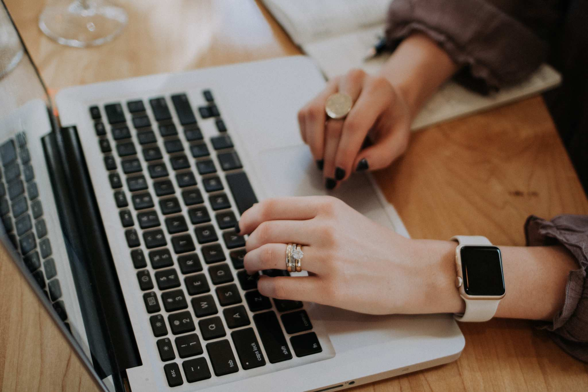 A woman in a watch and rings uses a laptop to shop online. Our Black Friday Hemp Guide brings together deals from 7 of Ministry of Hemp's favorite hemp brands.