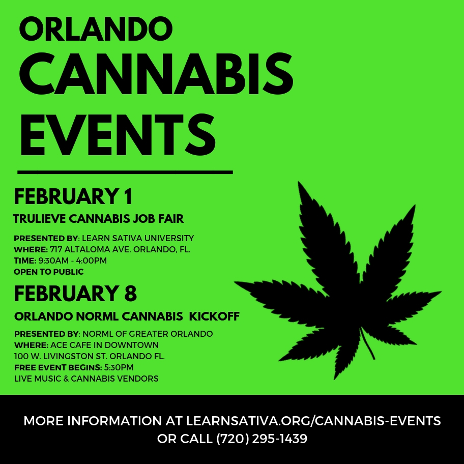 Cannabis Events - Learn Sativa University