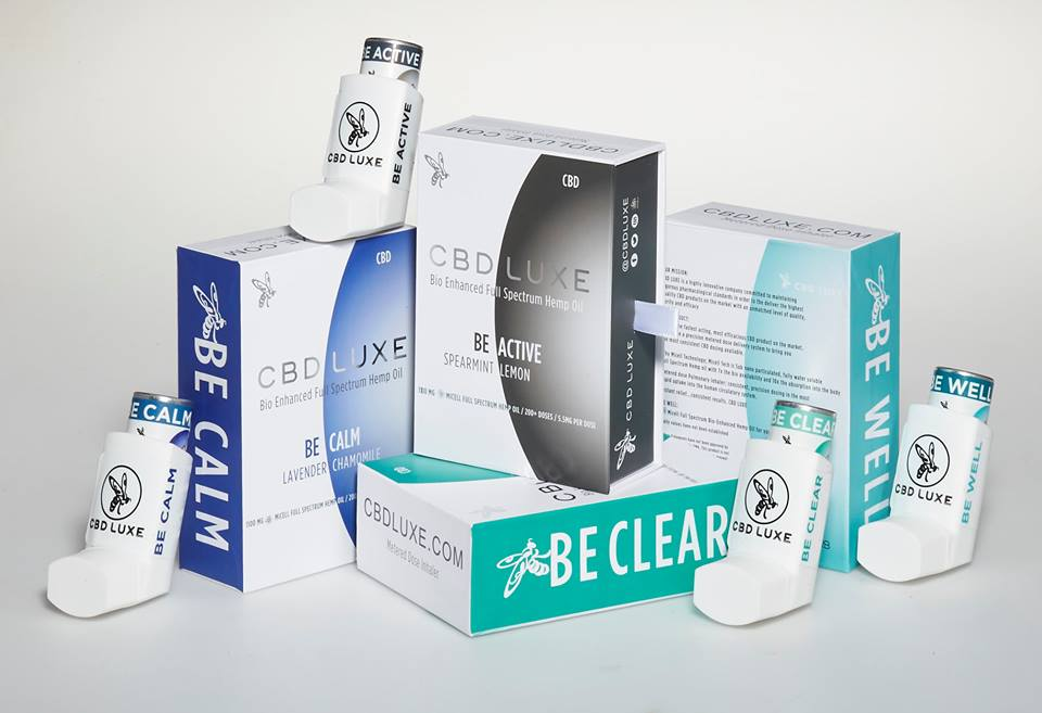 CBD Inhalers from CBD Luxe offer a reliable, easy to inhale dose of full-spectrum CBD oil.