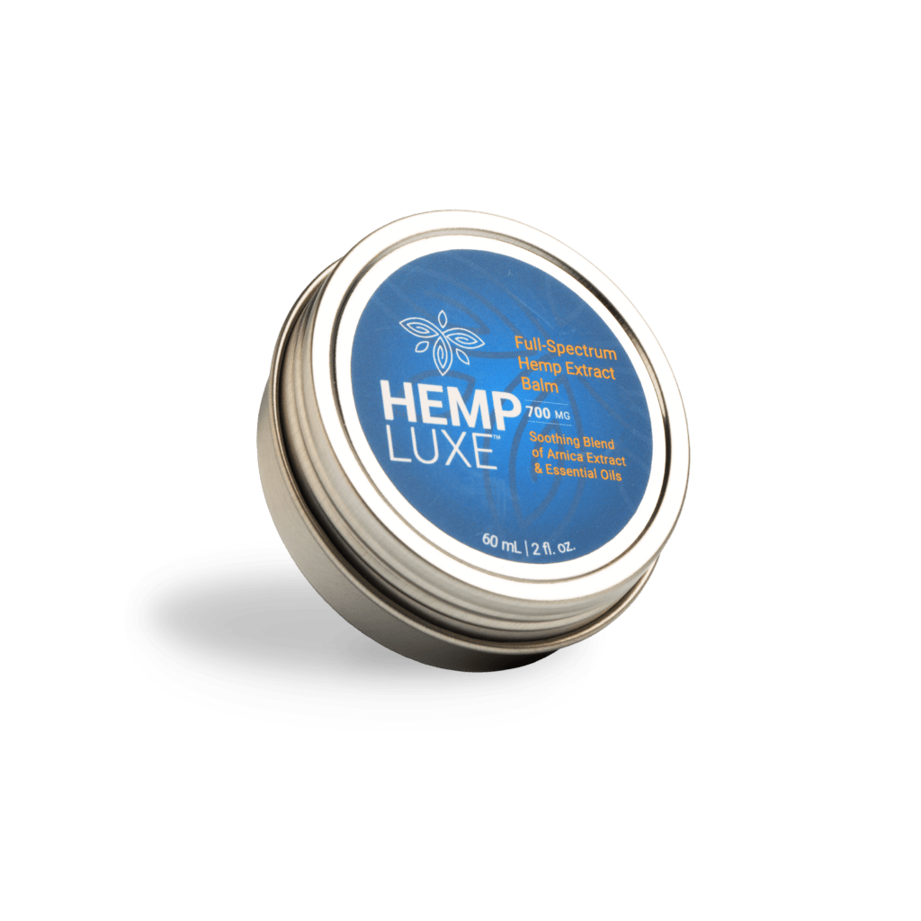 HempLuxe Full-Spectrum Hemp Extract Balm (Ministry of Hemp Official Review)