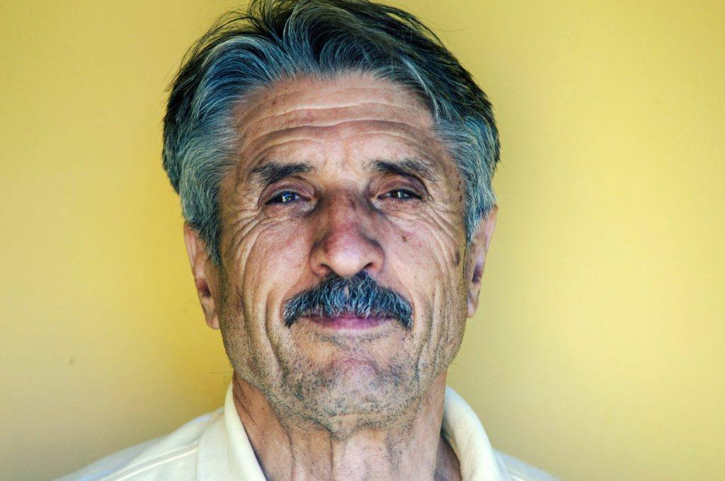 People of all ages are using CBD. As we got older, we may experience more symptoms that CBD can help with.Photo: An older man with a face with deepening wrinkles and graying hair and moustache smiles, photographed against a yellow wall.