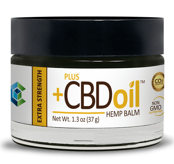 PlusCBD Oil Extra Strength Hemp Balm
