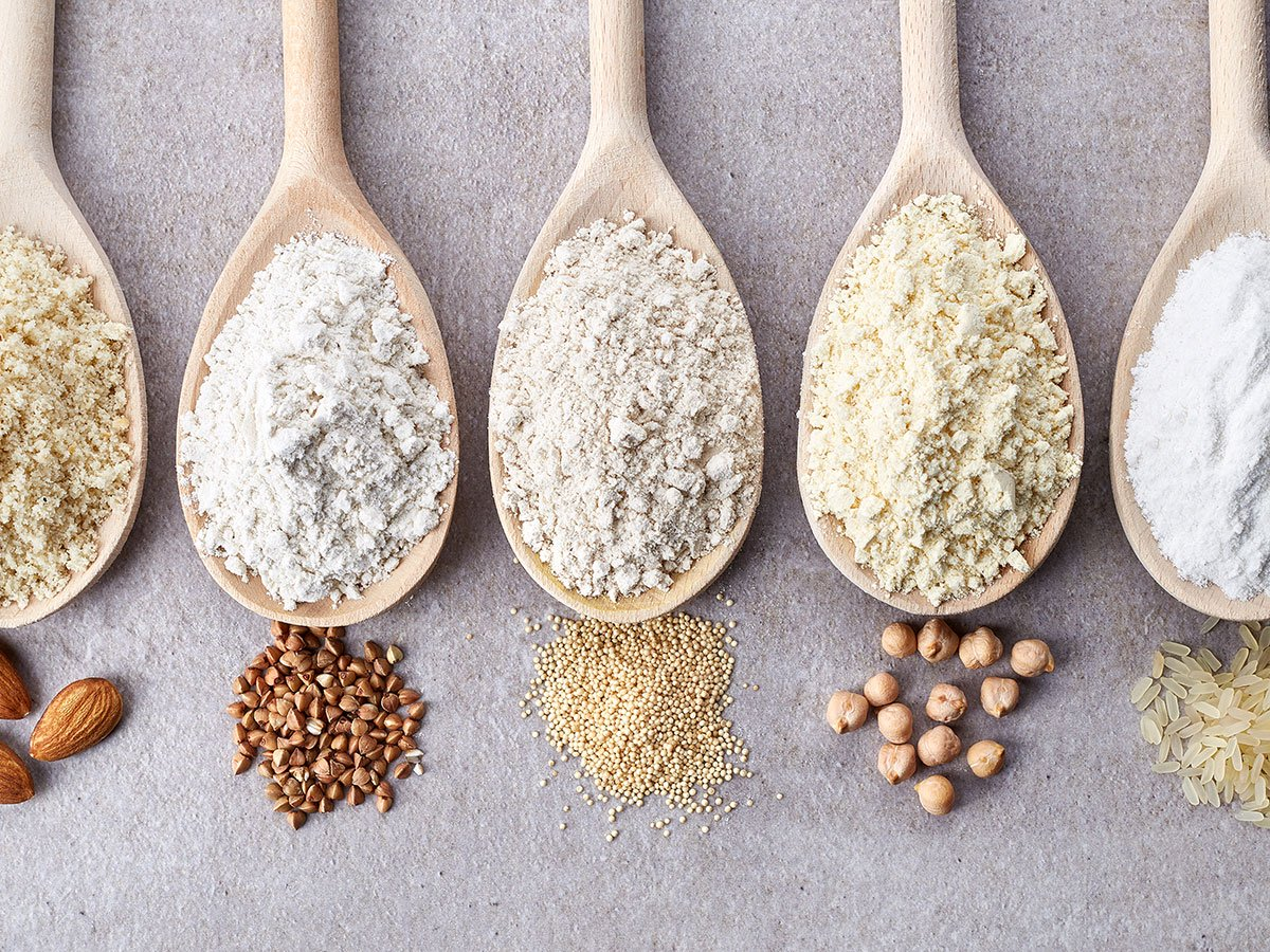 healthy flours for baking