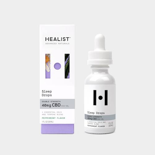 Healist Naturals Double Strength Sleep Drops (Ministry of Hemp Official Review)