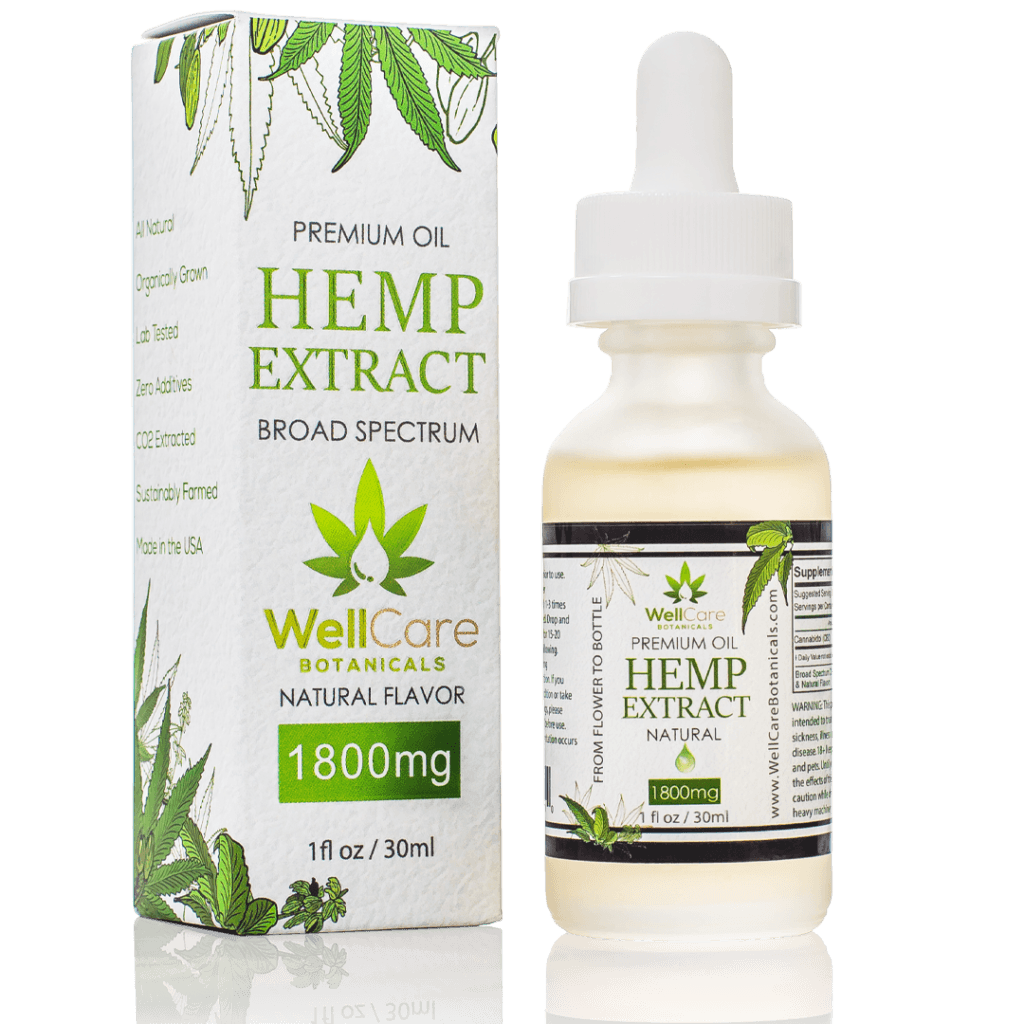 Well Care Botanicals Hemp Extract 1800 MG (Ministry of Hemp Official Review)