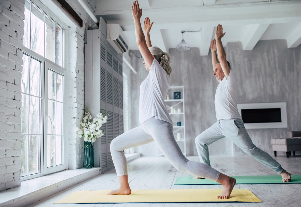 fitness after 50   yoga
