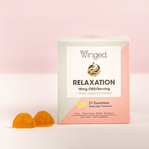 Winged Relaxaton CBD Gummies (Ministry of Hemp Official Review)