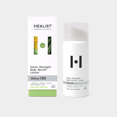 Healist Naturals Extra Strength Body Lotion (Ministry of Hemp Official Review)