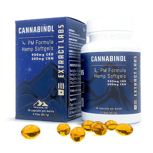 Extract Labs PM Formula CBN Softgels