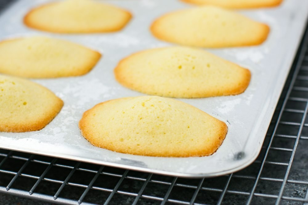Madelines Baked