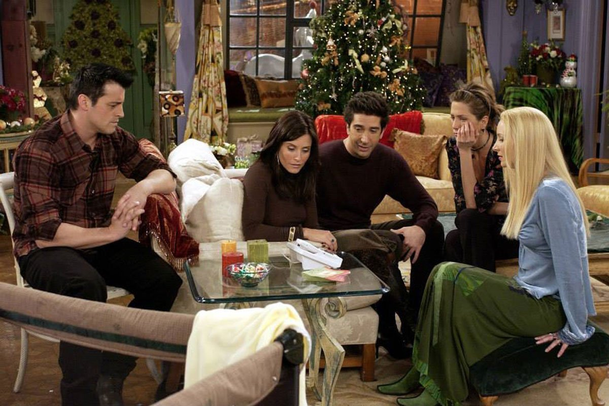 Friends Holiday Episodes - The One with Christmas in Tulsa