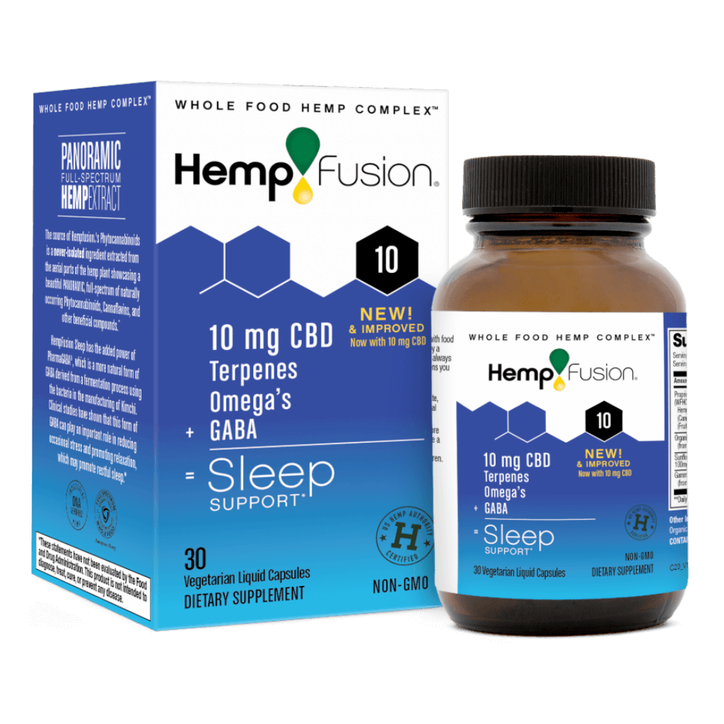 HempFusion CBD For Sleep (Ministry of Hemp Official Review)